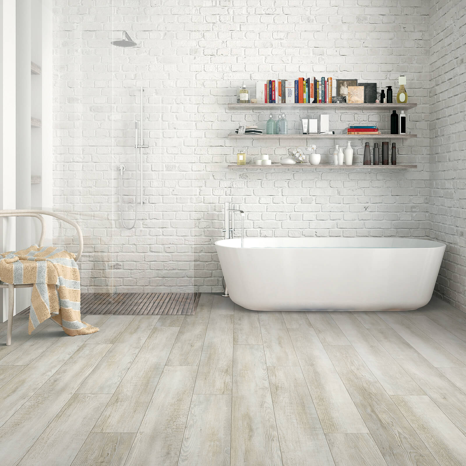 Bathroom Hardwood Flooring | Wacky's Flooring