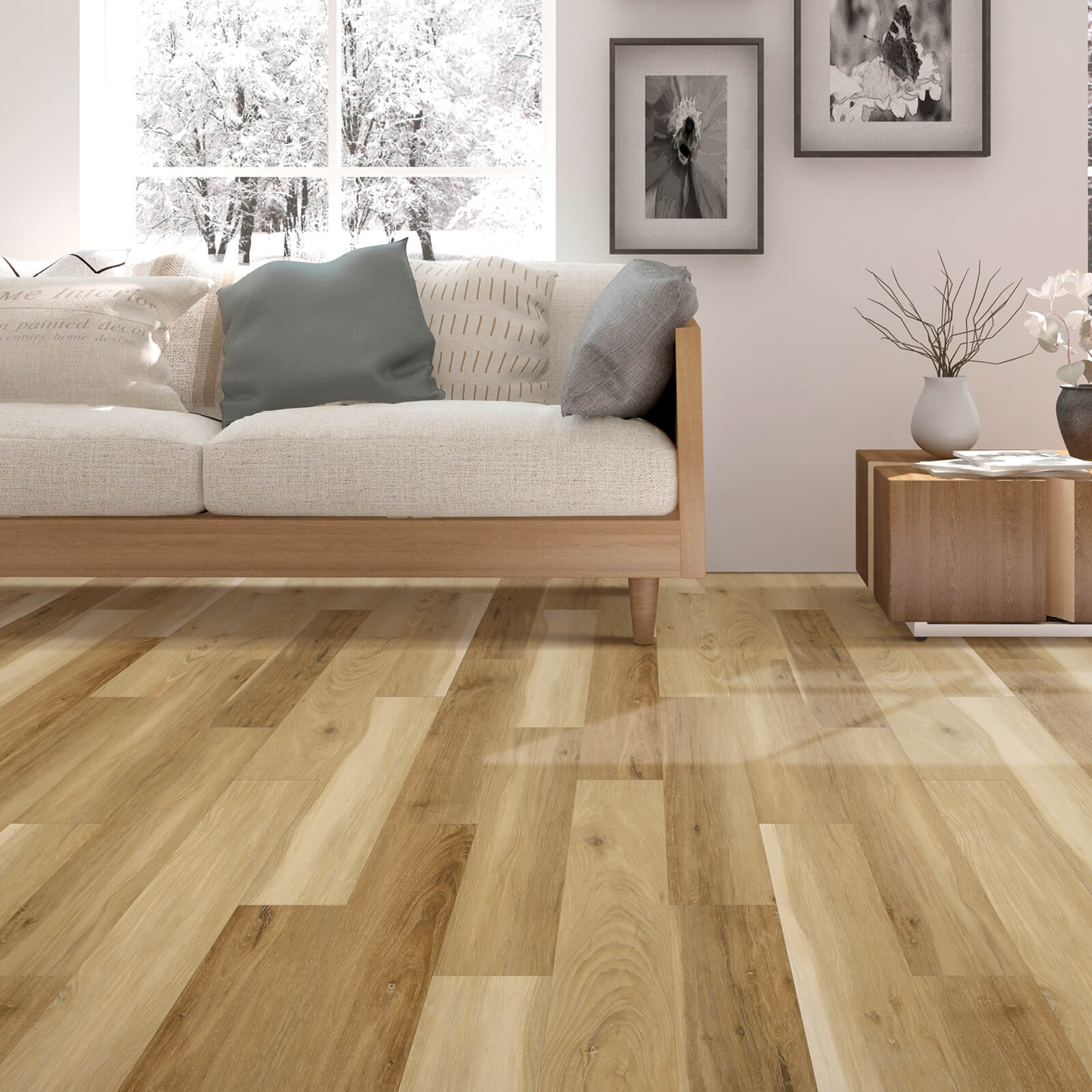 Living Room Laminate Flooring | Wacky's Flooring