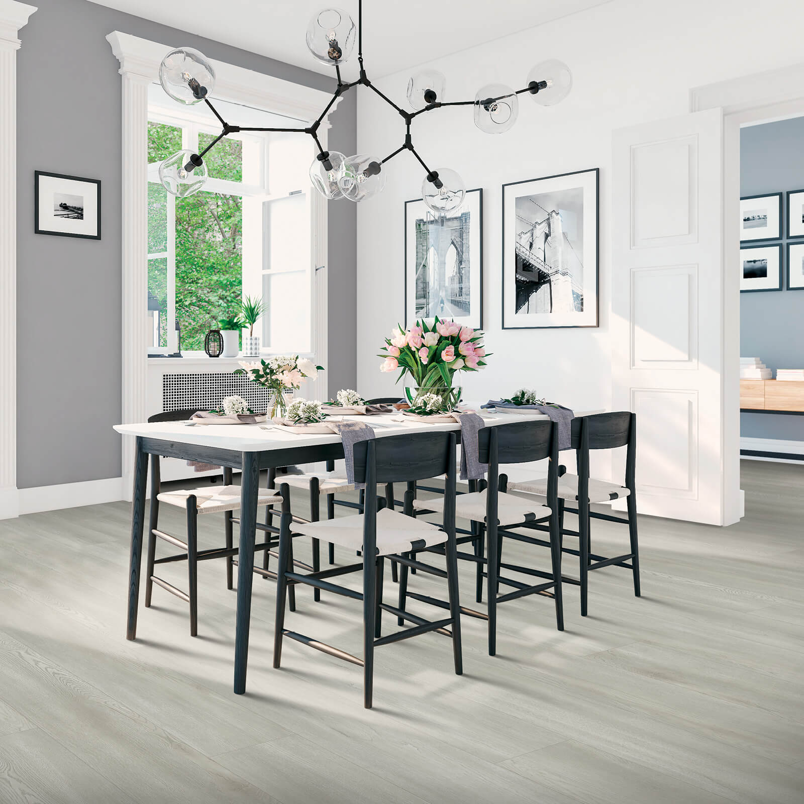 Dining Room Laminate Flooring | Wacky's Flooring
