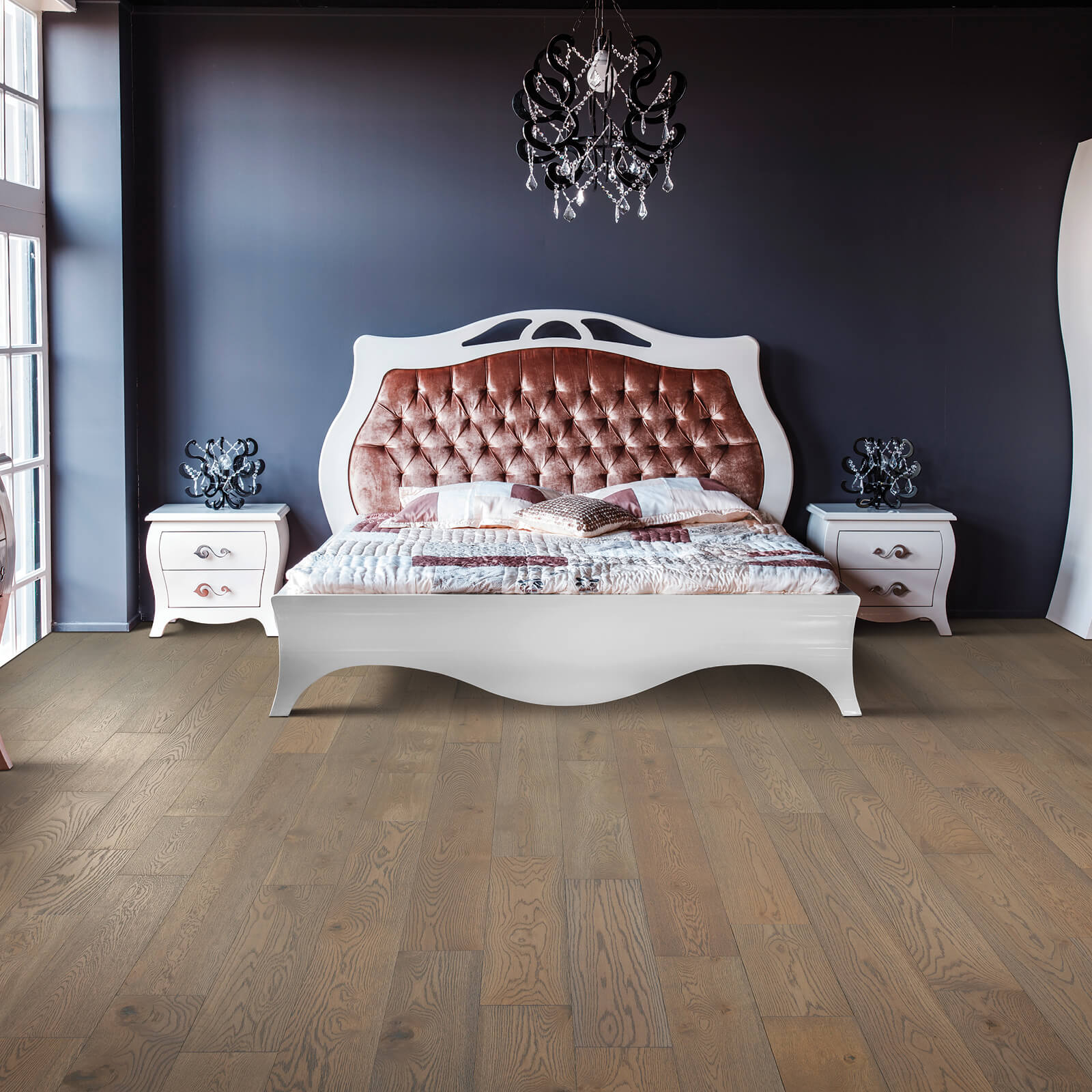 Bedroom Hardwood Flooring | Wacky's Flooring