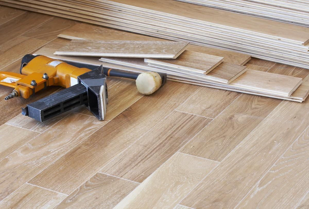 Hardwood installation | Wacky's Flooring