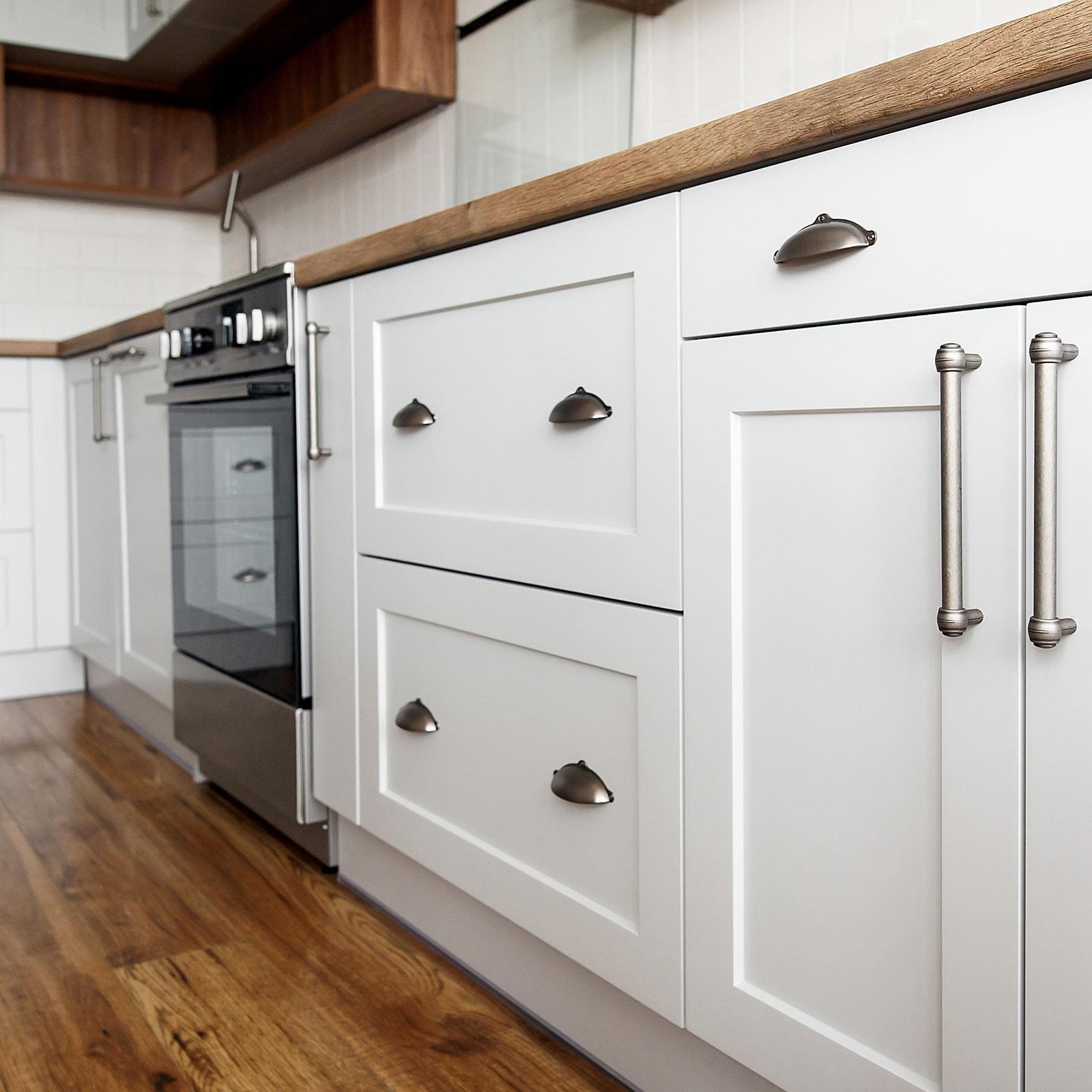Cabinets White | Wacky's Flooring