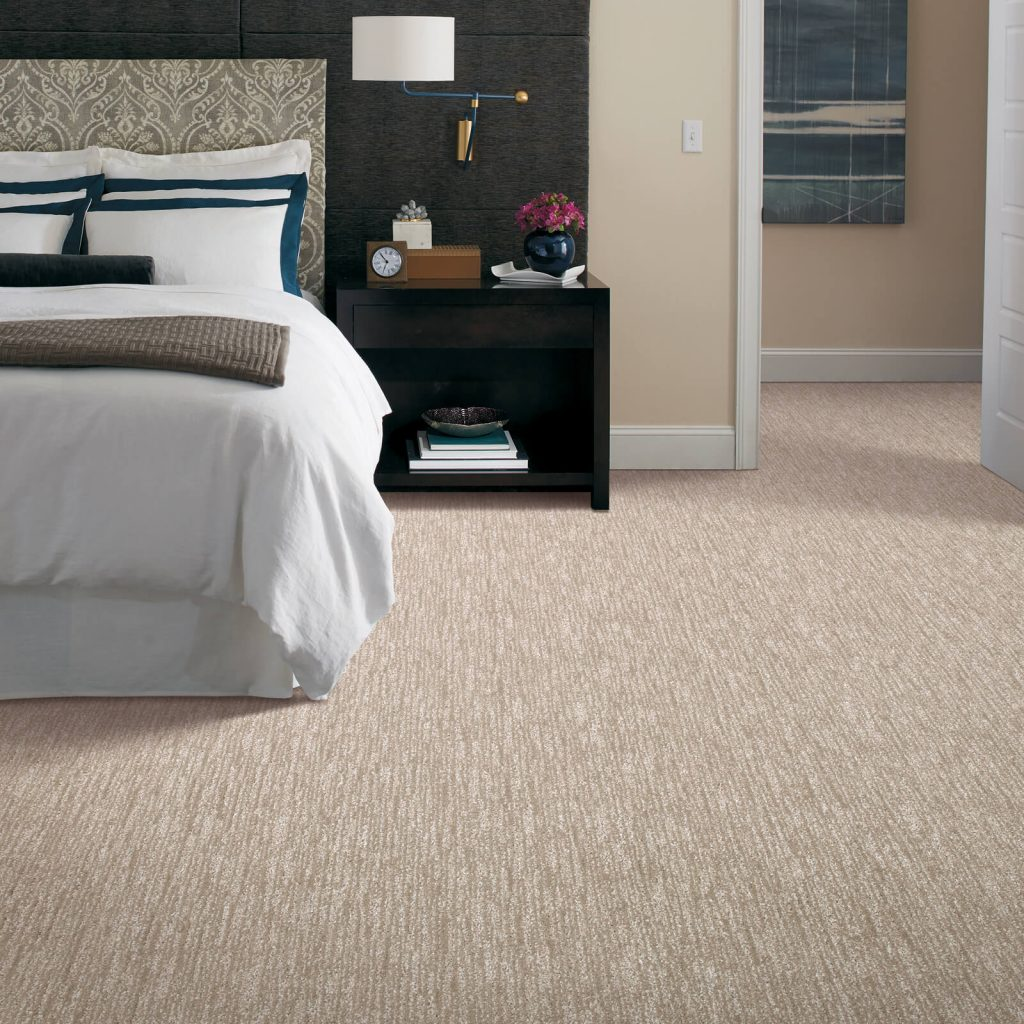 New carpet in bedroom | Wacky's Flooring