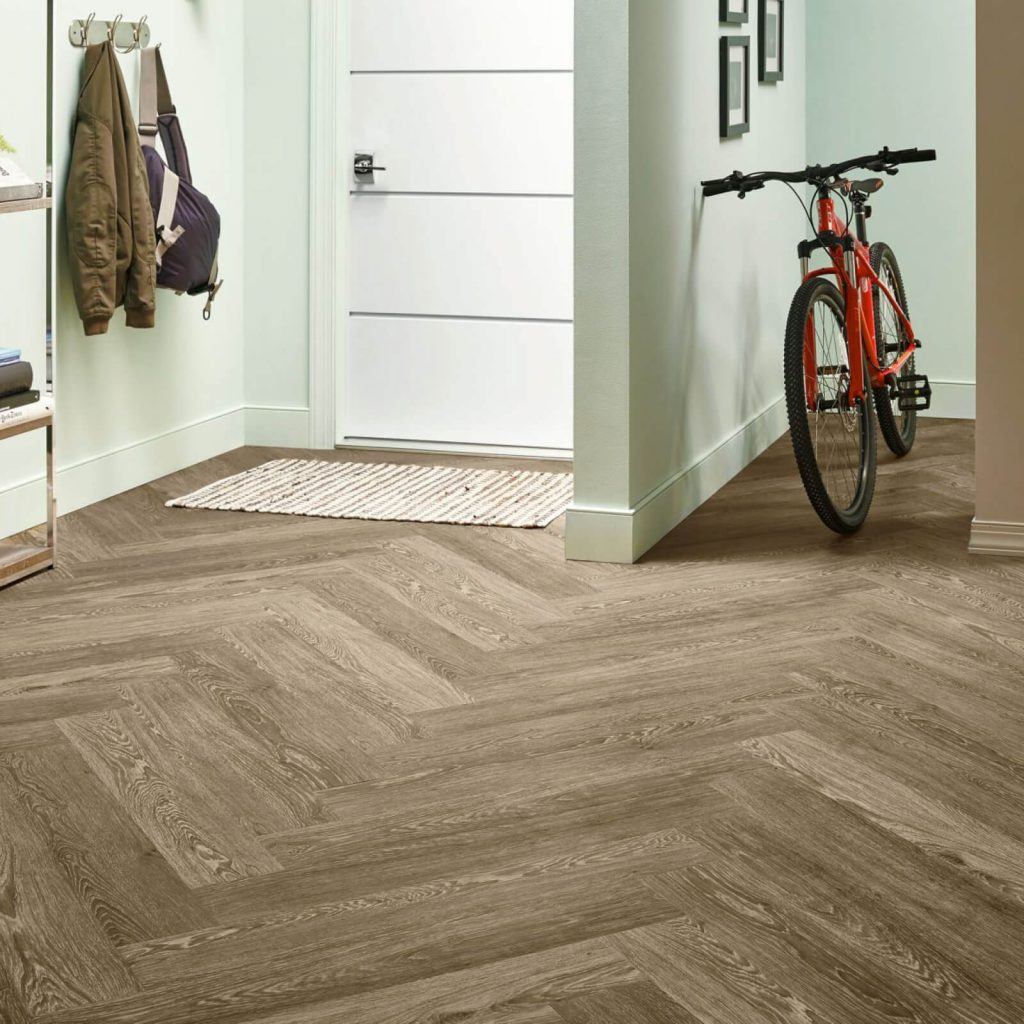 Bicycle on flooring | Wacky's Flooring & Lighting