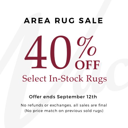 area rug sale roomscene