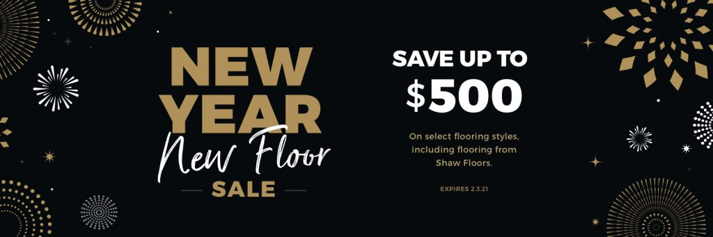 New Year New Floors Sale | Wacky's Flooring