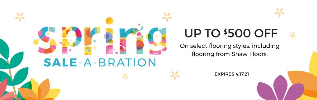 Spring Sale-A-Bration | Wacky's Flooring